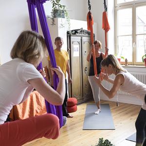 Yogalehrer Aerial Yoga Ausbildung in Schwerin