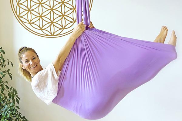 Aerial Yoga Ausbildung Fit im Tuch Seminar