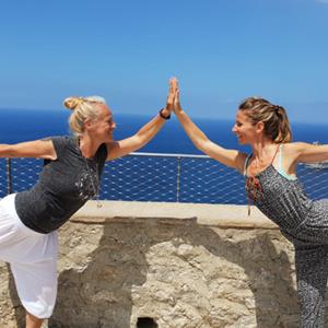 Yoga Urlaub auf Mallorca mit Franzi und Shoshana