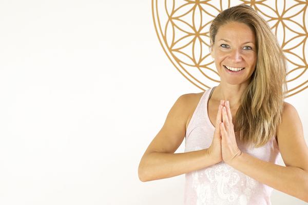 Yogalehrerin Franziska Reuß